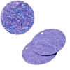 Sequins Hologram 30mm 1mm Hole Round Lilac